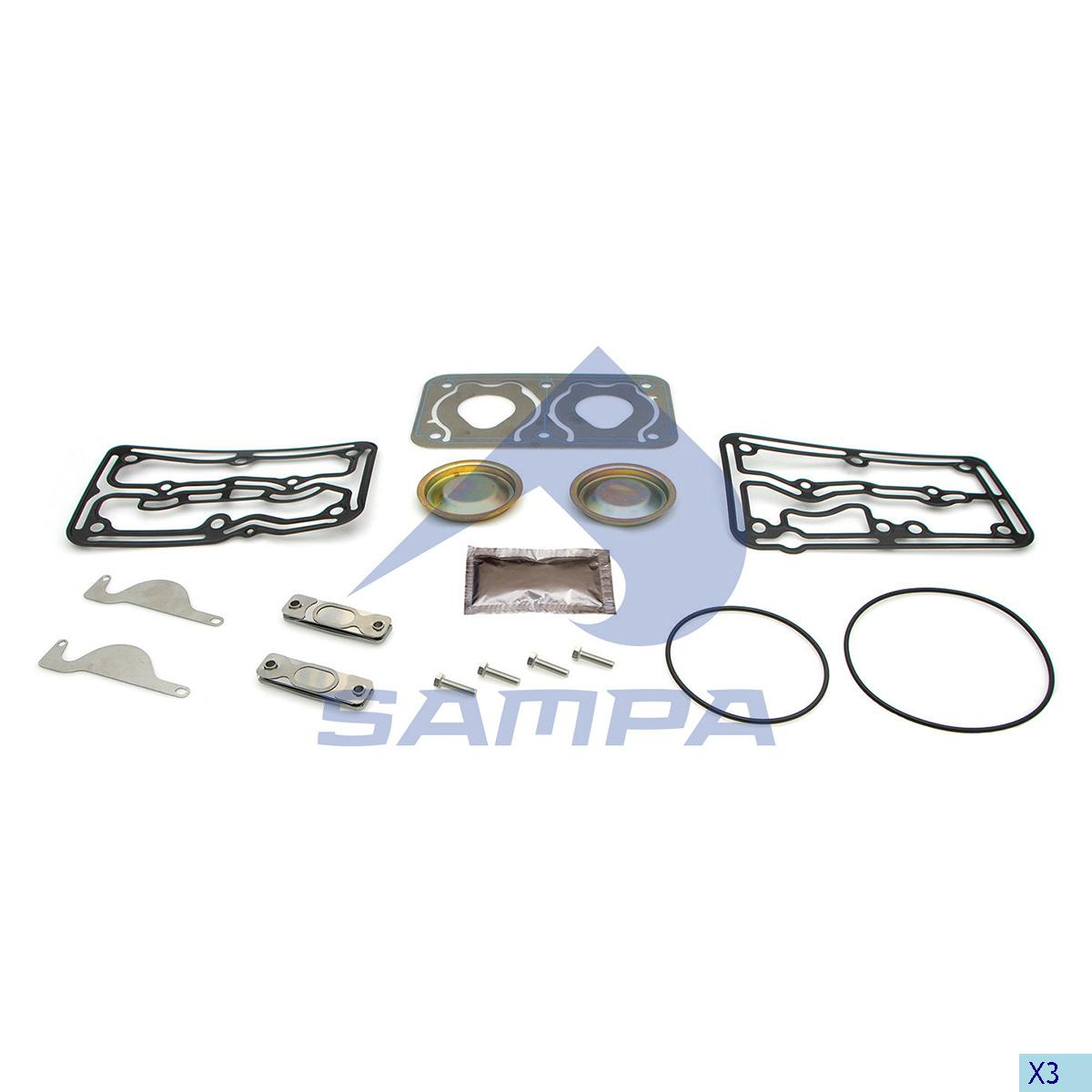 Repair Kit, Compressor, R.V.I., Compressed Air System