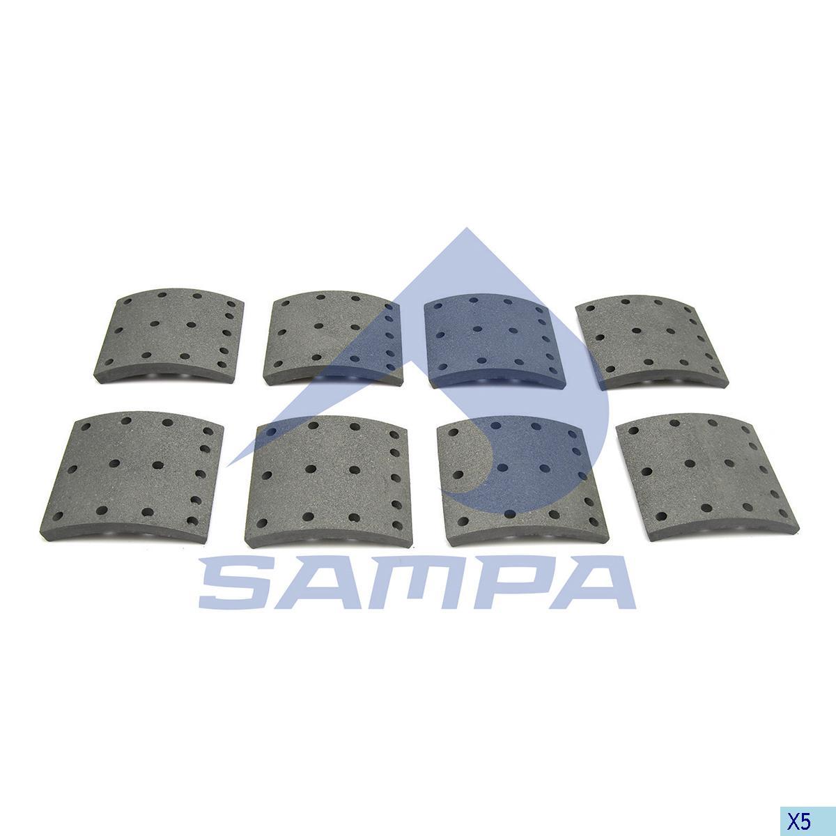 Lining Kit, Brake Drum, Volvo, Brake