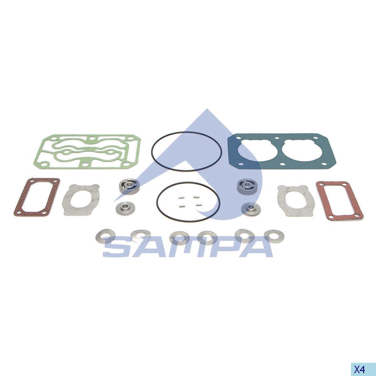 Repair Kit, Compressor, Daf, Compressed Air System