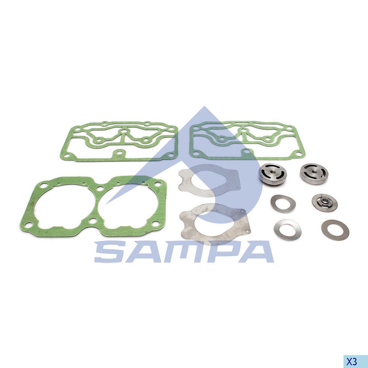 Repair Kit, Cylinder Head, Volvo, Compressed Air System