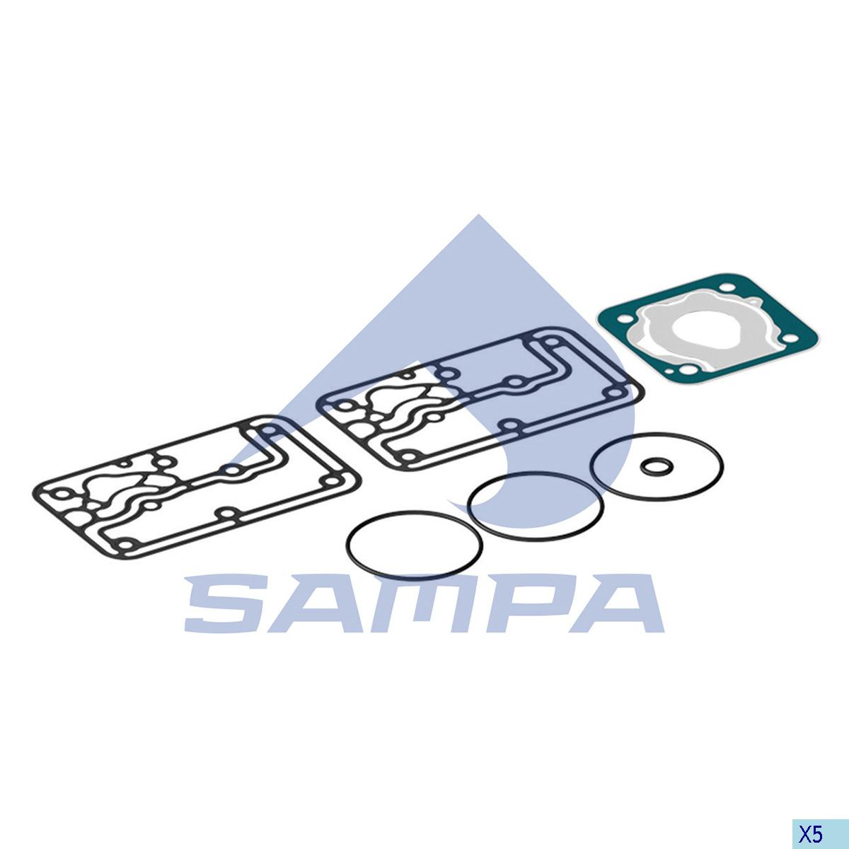 Gasket Kit, Compressor, Mercedes, Compressed Air System