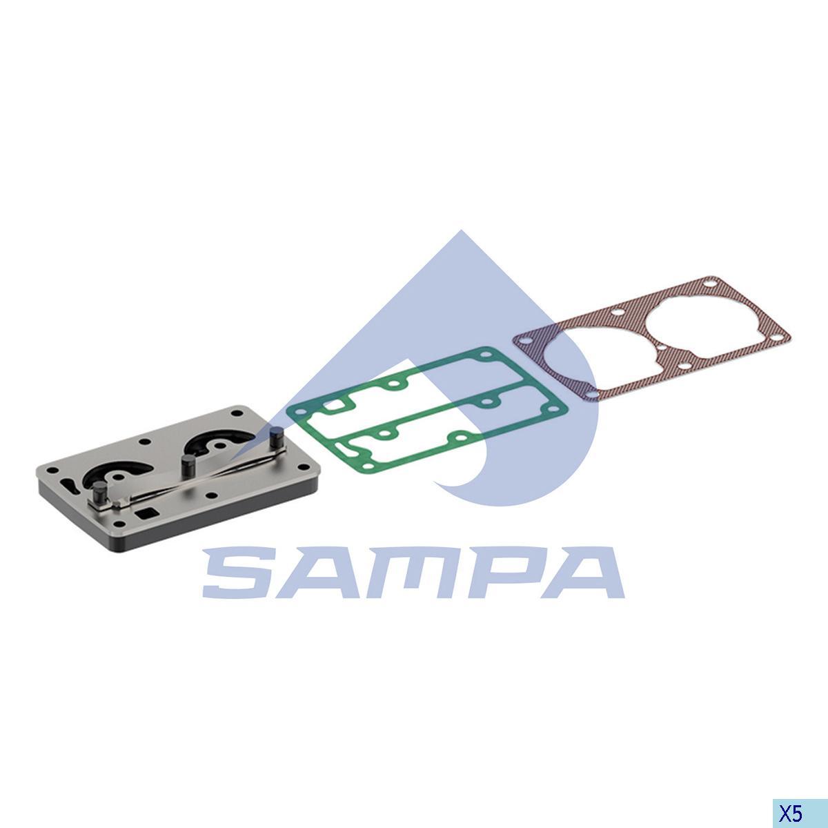 Plate Kit, Cylinder Head, R.V.I., Compressed Air System