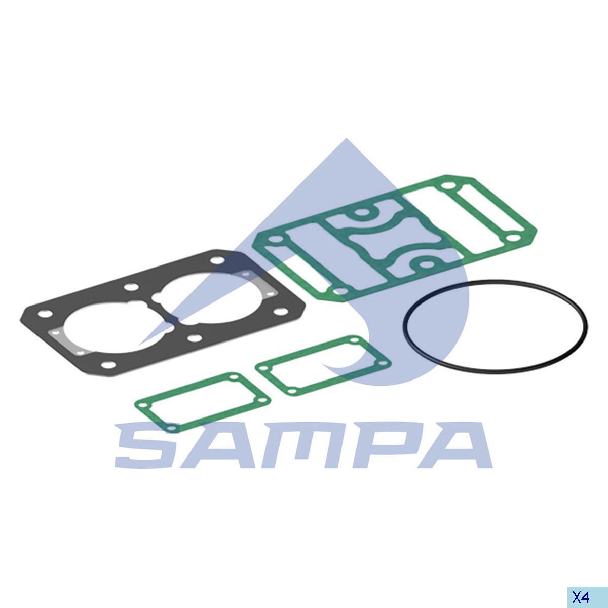 Gasket Kit, Compressor, Daf, Compressed Air System