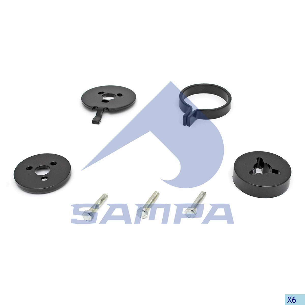 Repair Kit, Trailer Coupling, Rockinger, Complementary Equipment