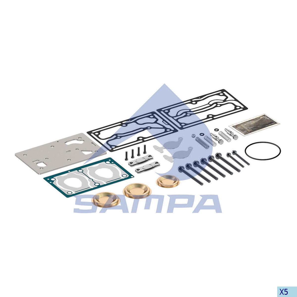 Repair Kit, Compressor, Daf, Compressed Air System