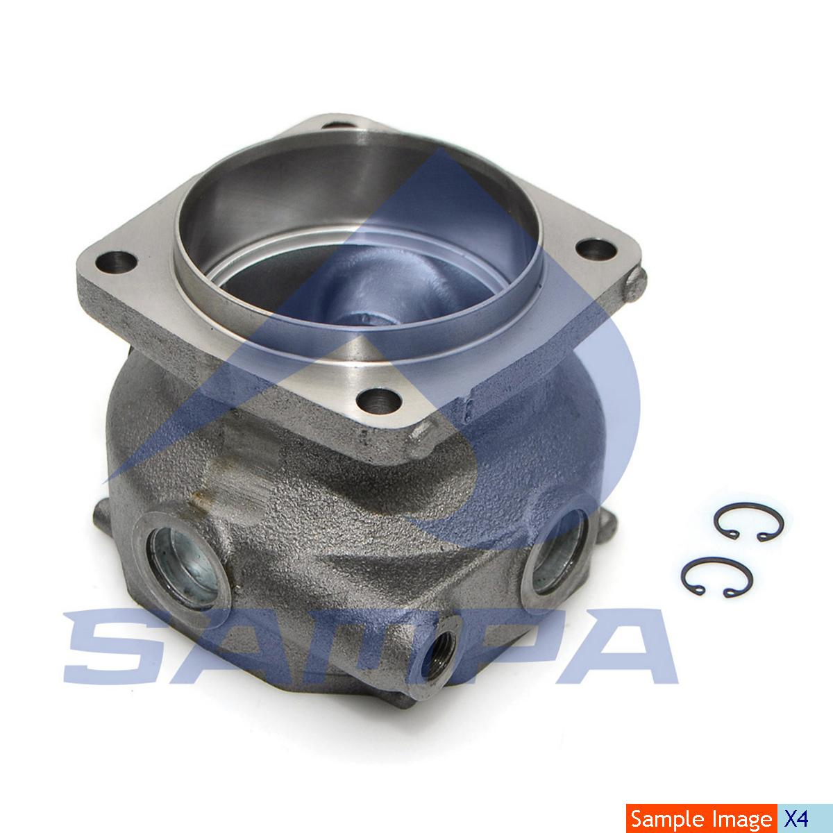 Cylinder Liner & Piston With Rings, Piston, R.V.I., Compressed Air System