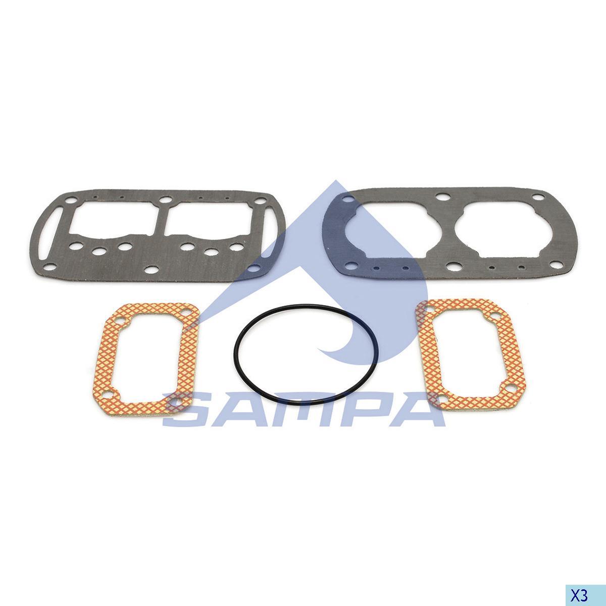 Gasket Kit, Compressor, R.V.I., Compressed Air System