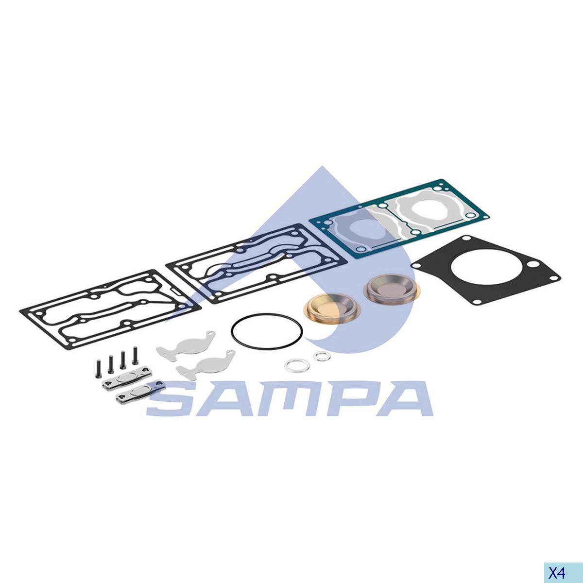Repair Kit, Compressor, Mercedes, Compressed Air System