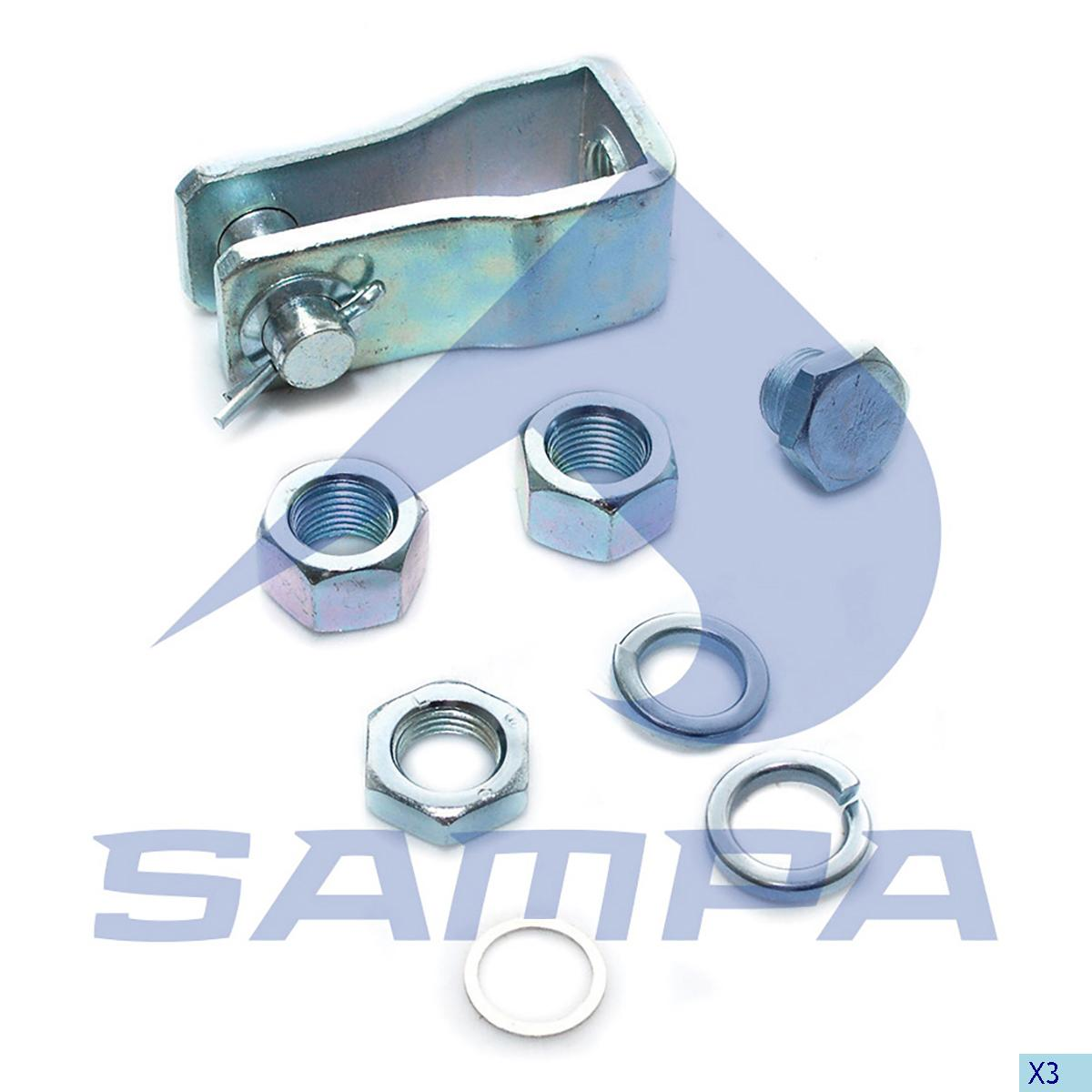 Mounting Kit, Brake Chamber, Daf, Brake