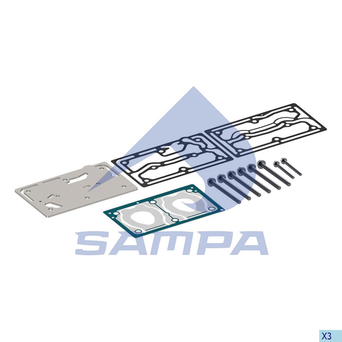 Gasket Kit, Cylinder Head, Volvo, Compressed Air System