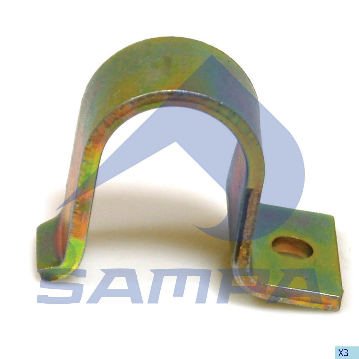 Bearing Cap, Stabilizer Bar, Mercedes, Suspension