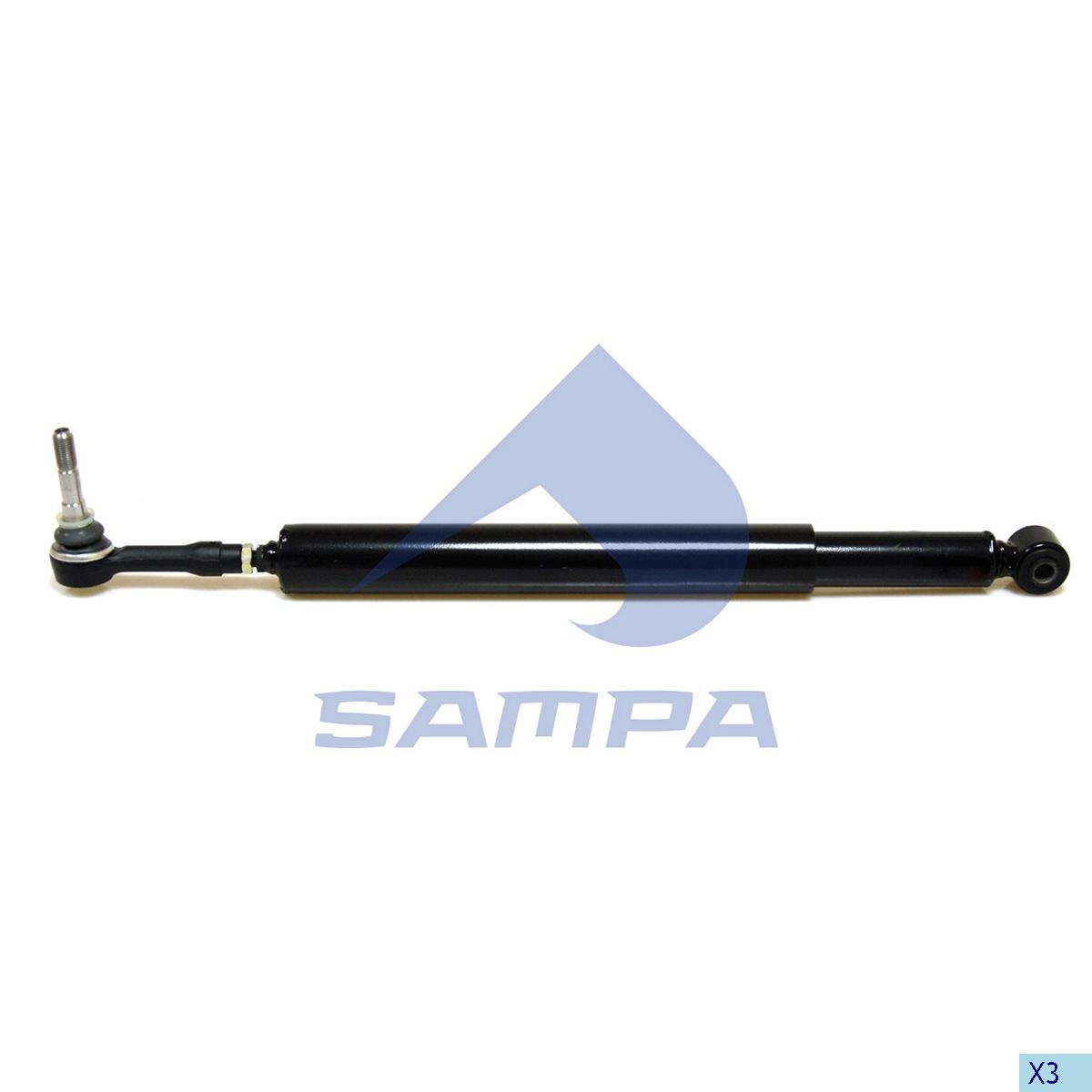 Shock Absorber, Steering, Mercedes, Steering