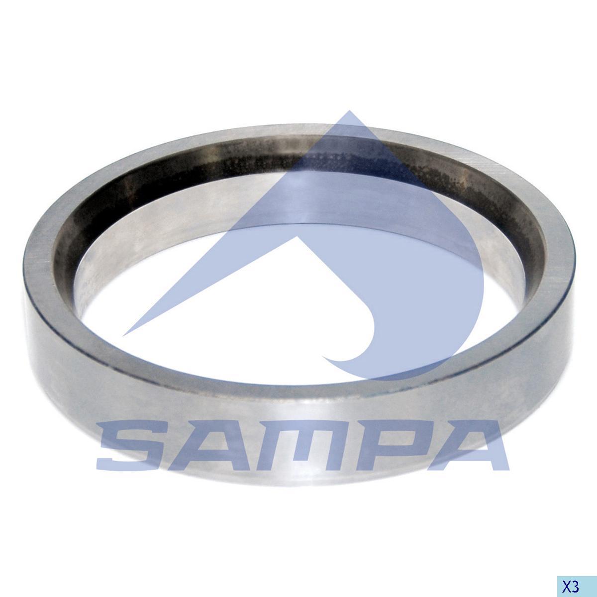Thrust Ring, Wheel Hub, Mercedes, Power Unit