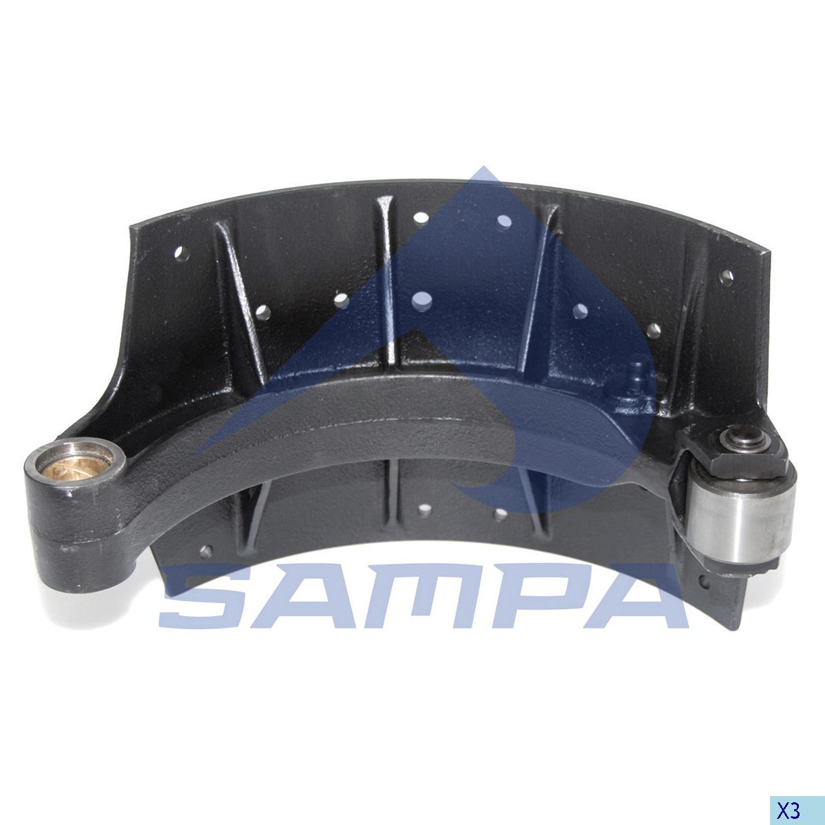 Brake Shoe, Brake Drum, Man, Brake