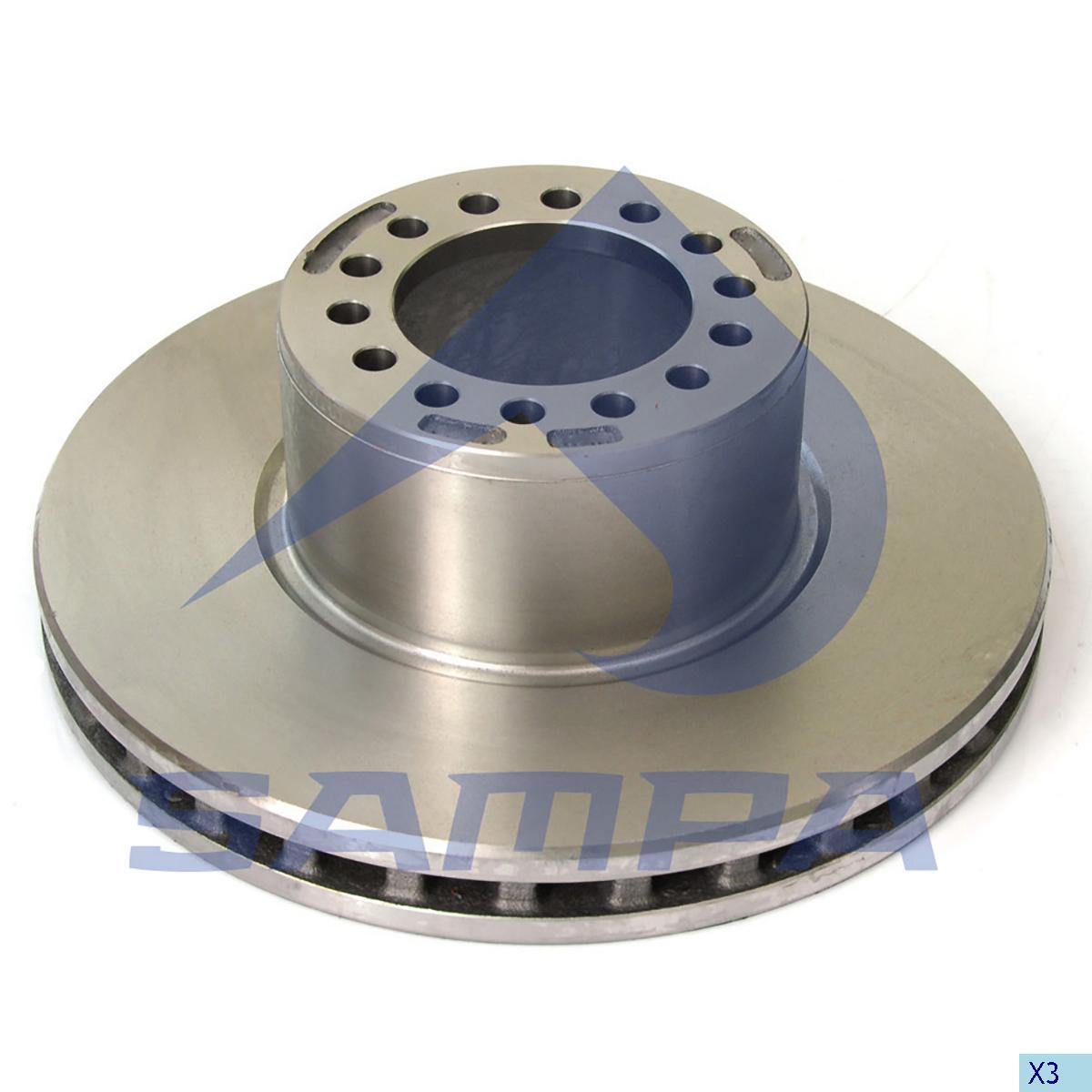 Brake Disc, Mercedes, Brake