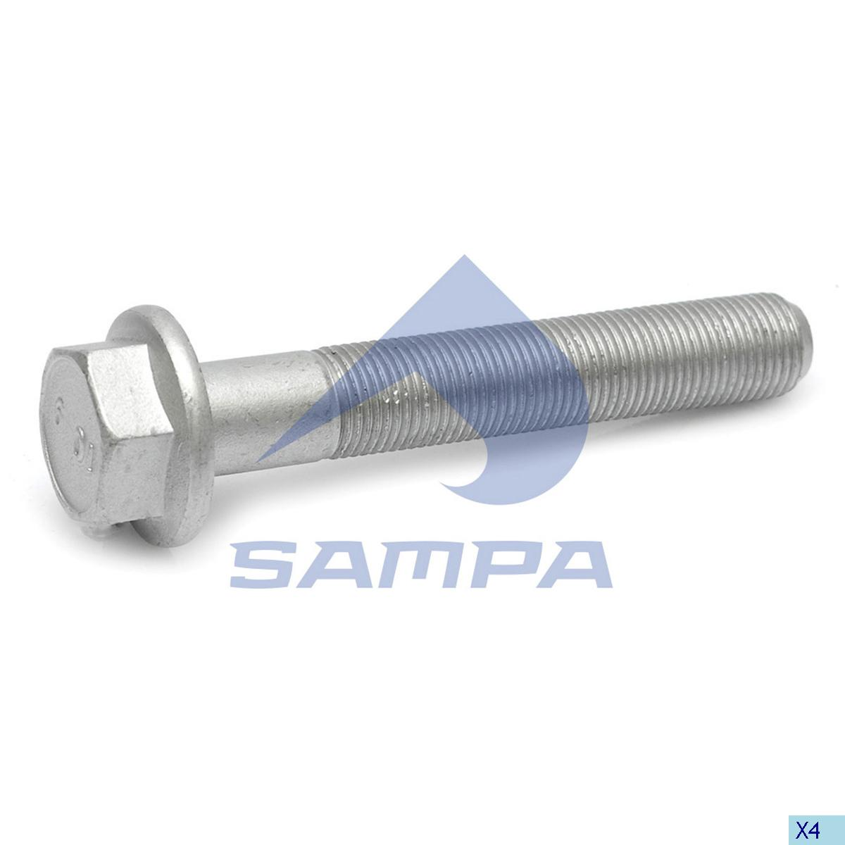 Screw, Axle Rod, Mercedes, Suspension