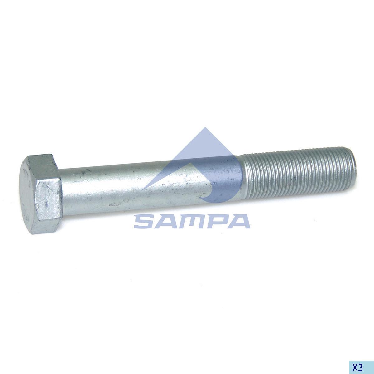 Screw, Axle Rod, R.V.I., Suspension