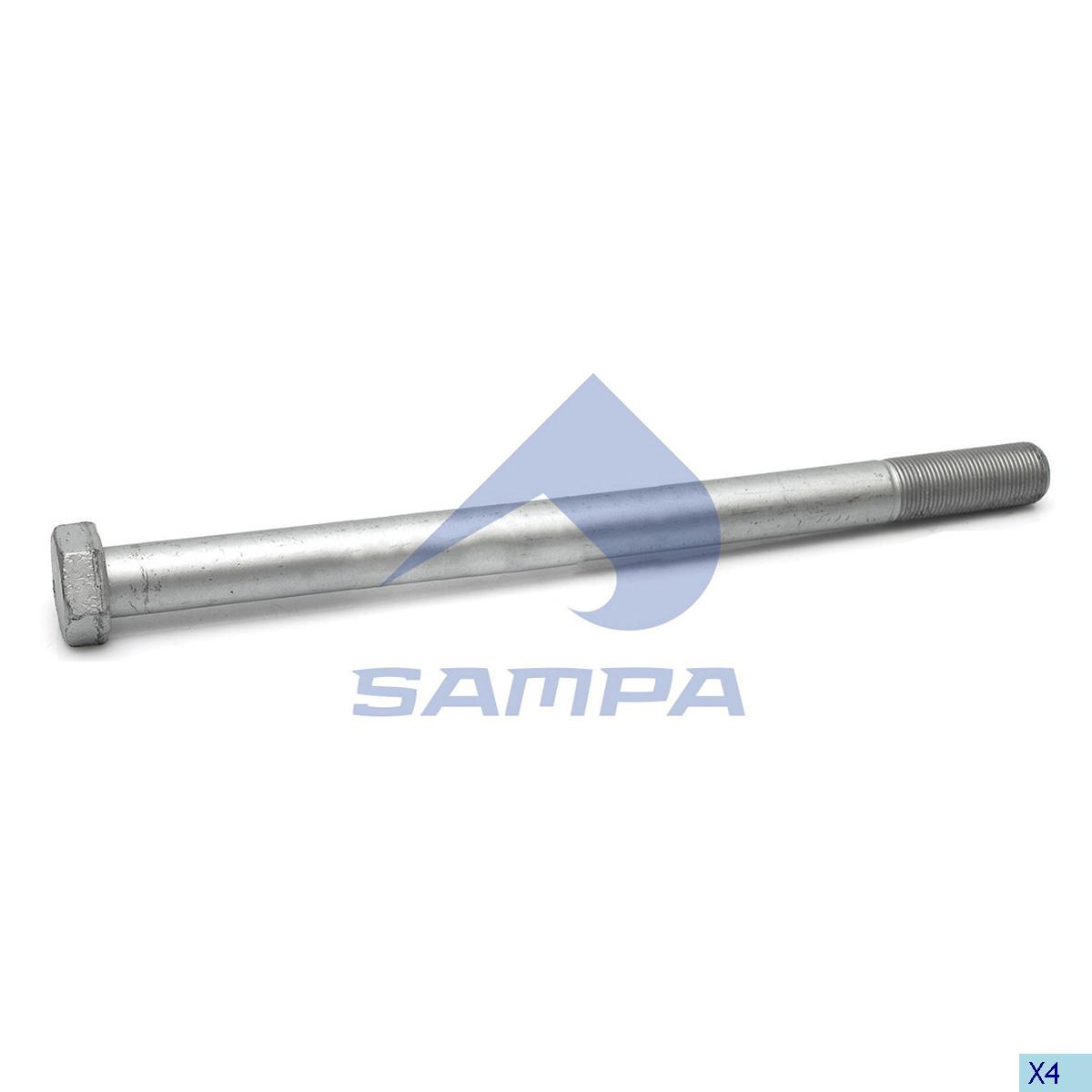 Screw, Axle Rod, R.V.I., Suspension