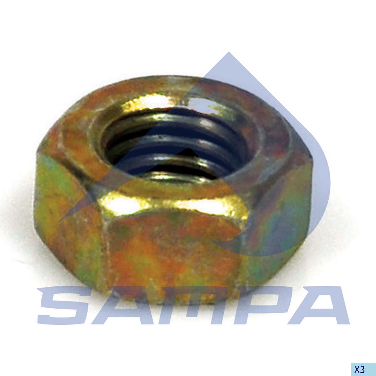 Nut, Propeller Shaft Bearing, Scania, Propeller Shaft
