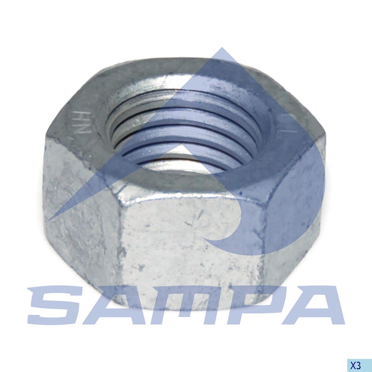 Nut, Spring, Scania, Suspension