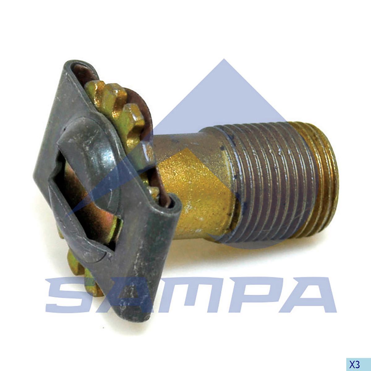 Adjusting Screw, Brake Adjuster, Iveco, Brake