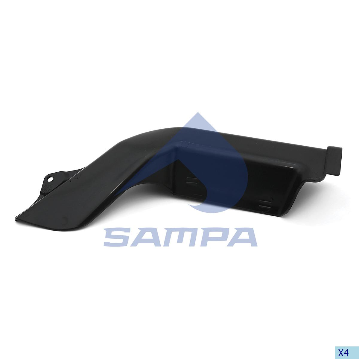 Cover, Bumper, Mercedes, Chassis