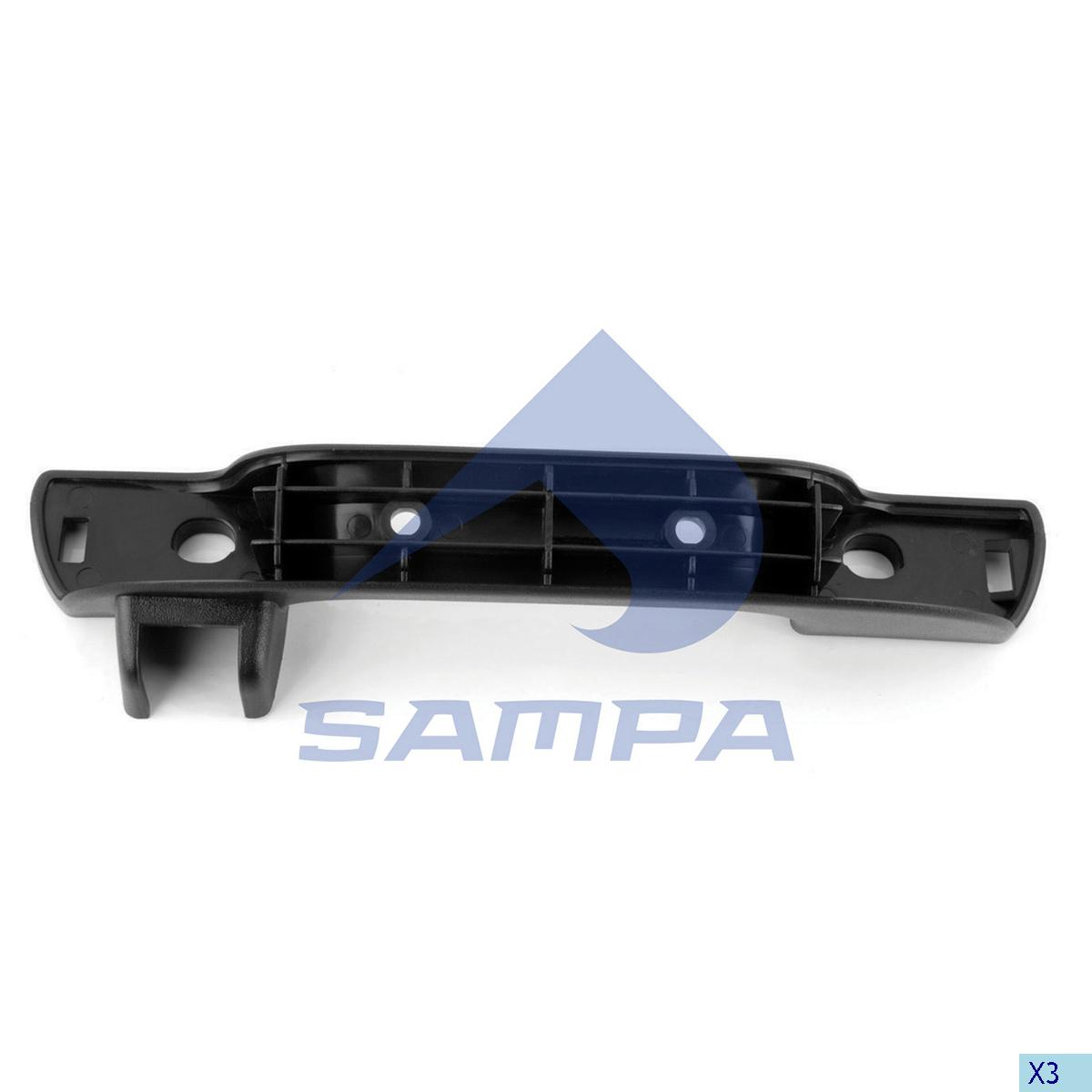 Pull Handle, Front Panel, Volvo, Cab