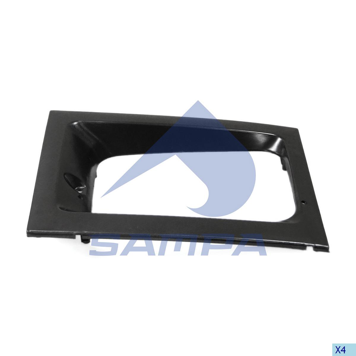 Frame, Head Lamp, Volvo, Electric System