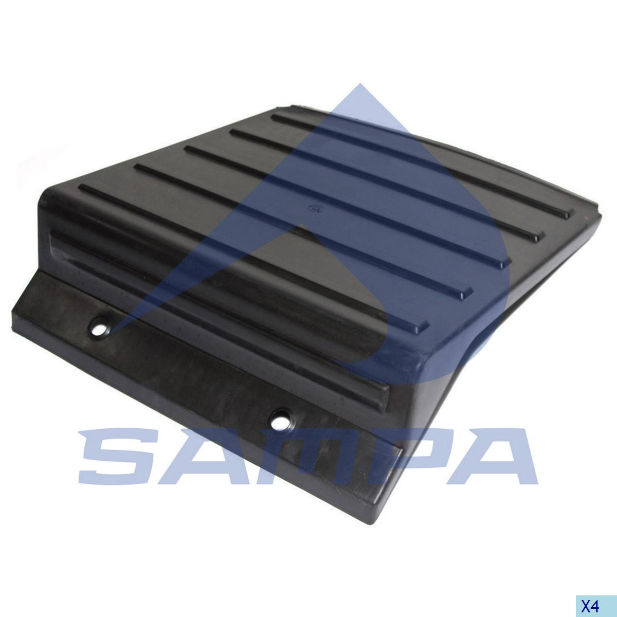 Cover, Battery, Volvo, Electric System