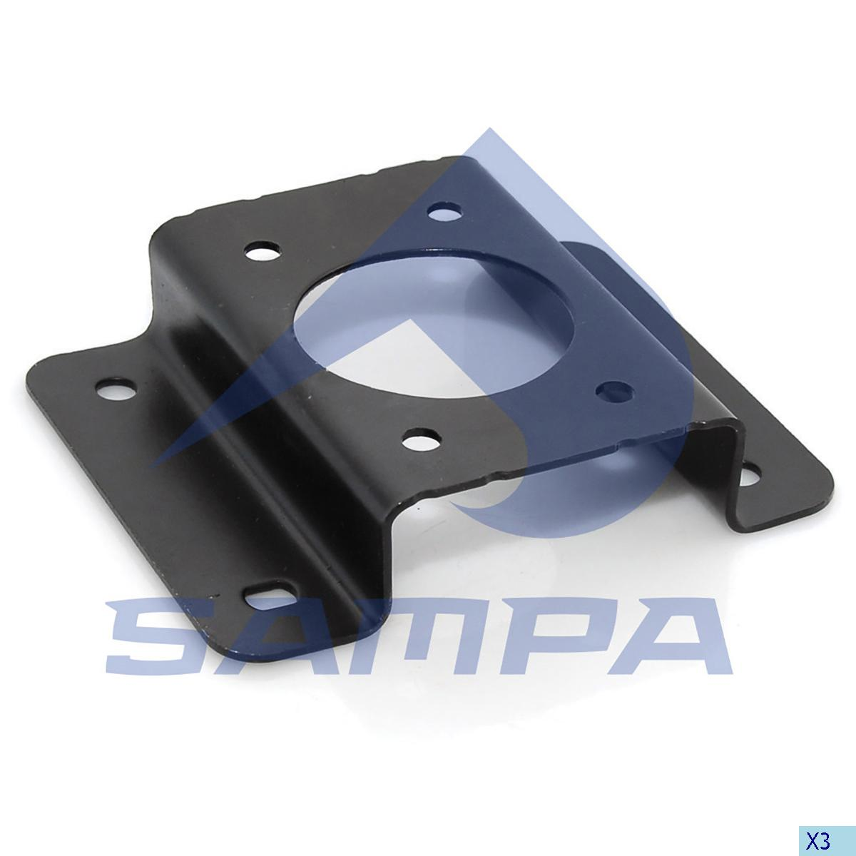 Bracket, Front Panel, Volvo, Cab