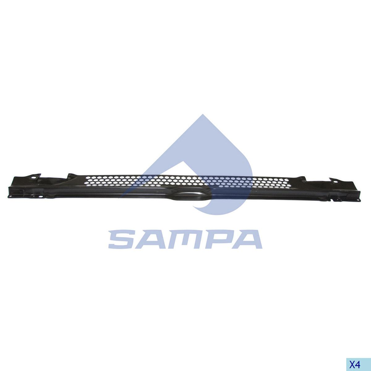 Grille, Front Panel, Scania, Cab