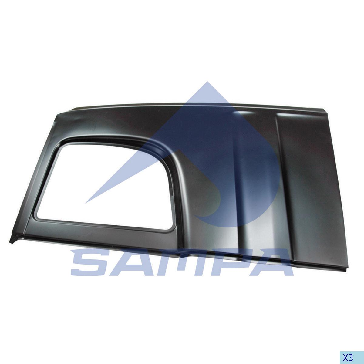 Side Panel, Scania, Cab