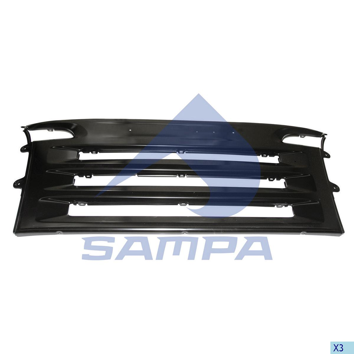 Front Panel, Scania, Cab