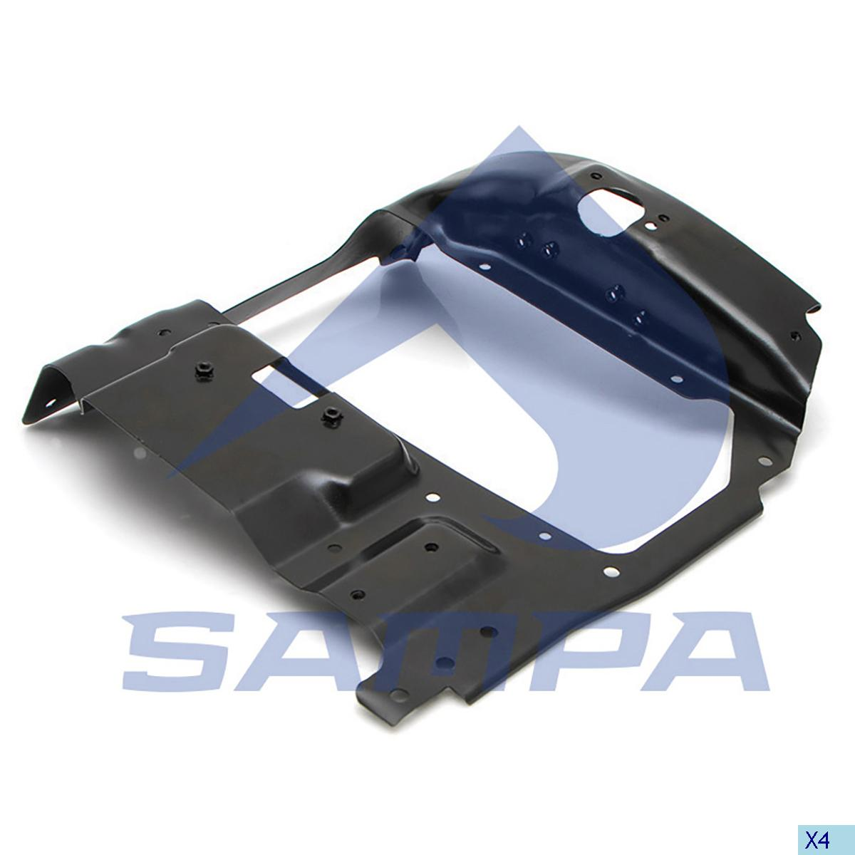 Bracket, Head Lamp, Scania, Electric System