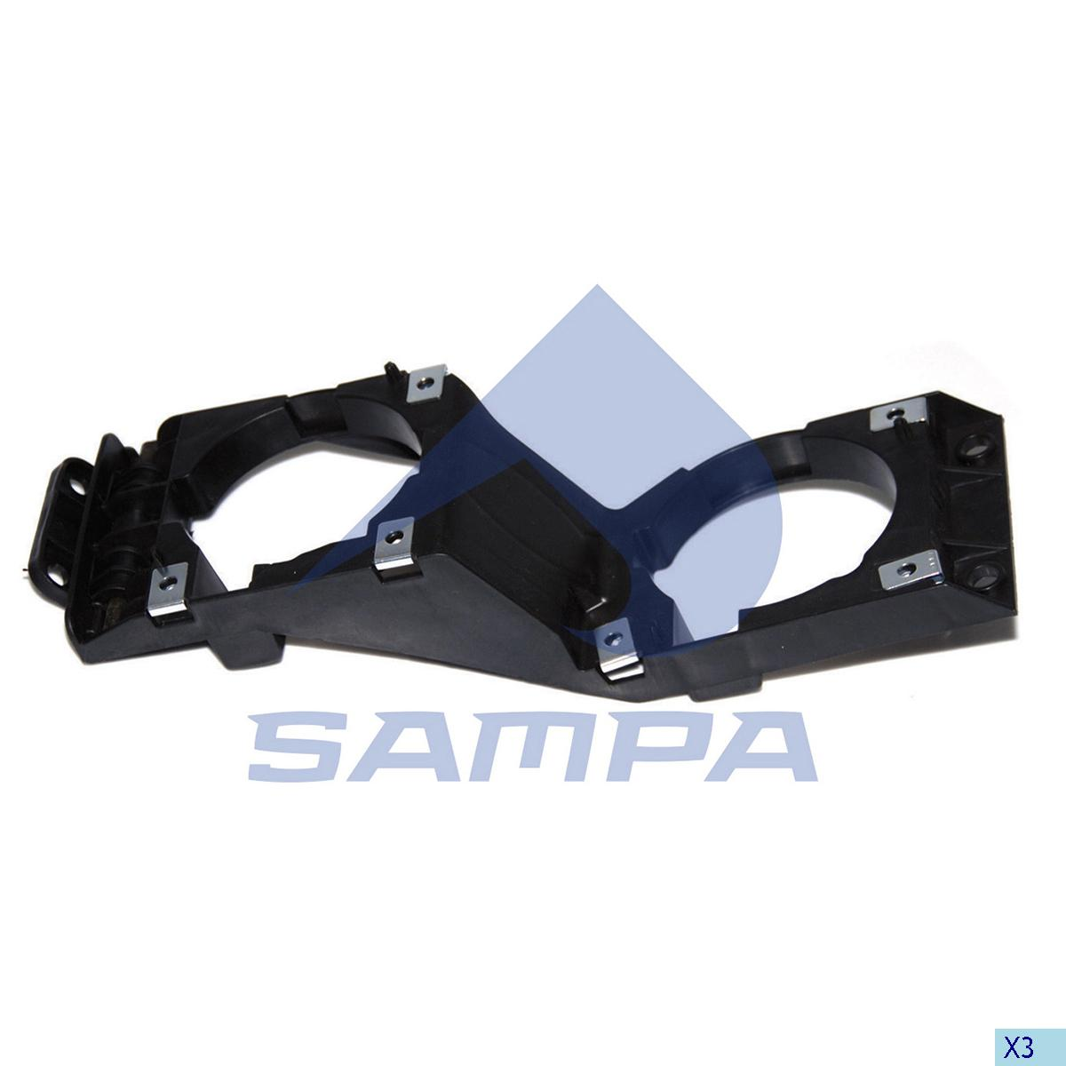 Bracket, Fog Lamp, Scania, Electric System