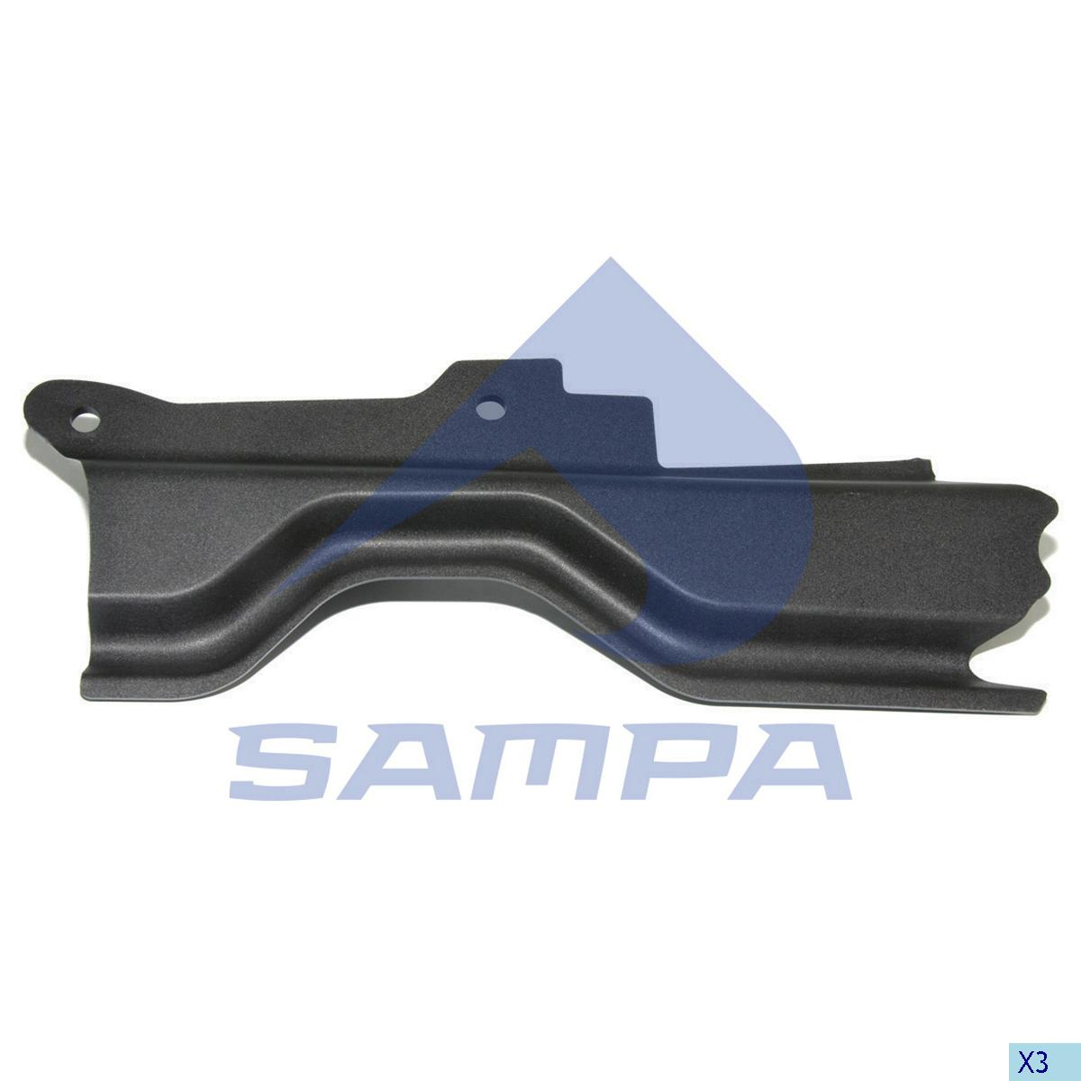 Cover, Step, Scania, Cab