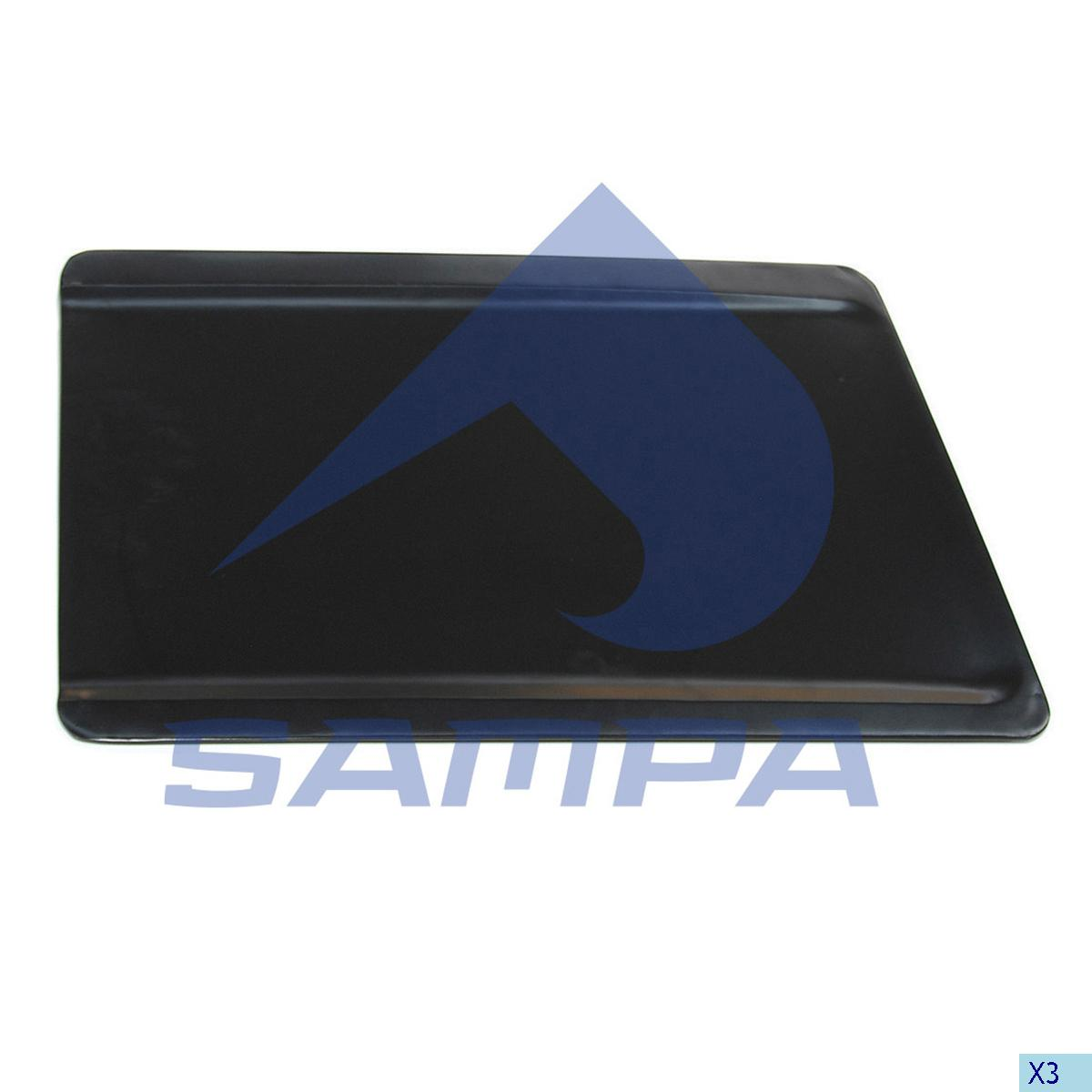 Storage Box Cover, Accessory, Scania, Cab