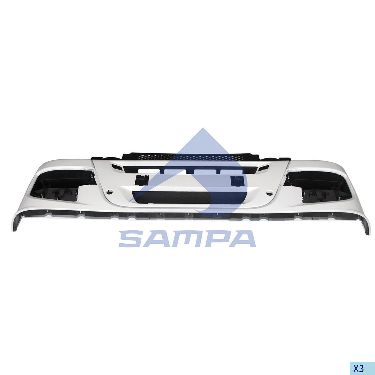 Bumper, Iveco, Chassis