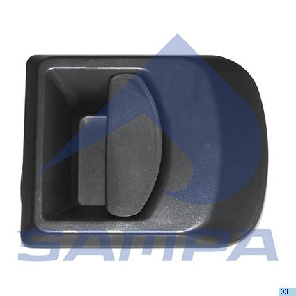 Handle, Door, Iveco, Cab
