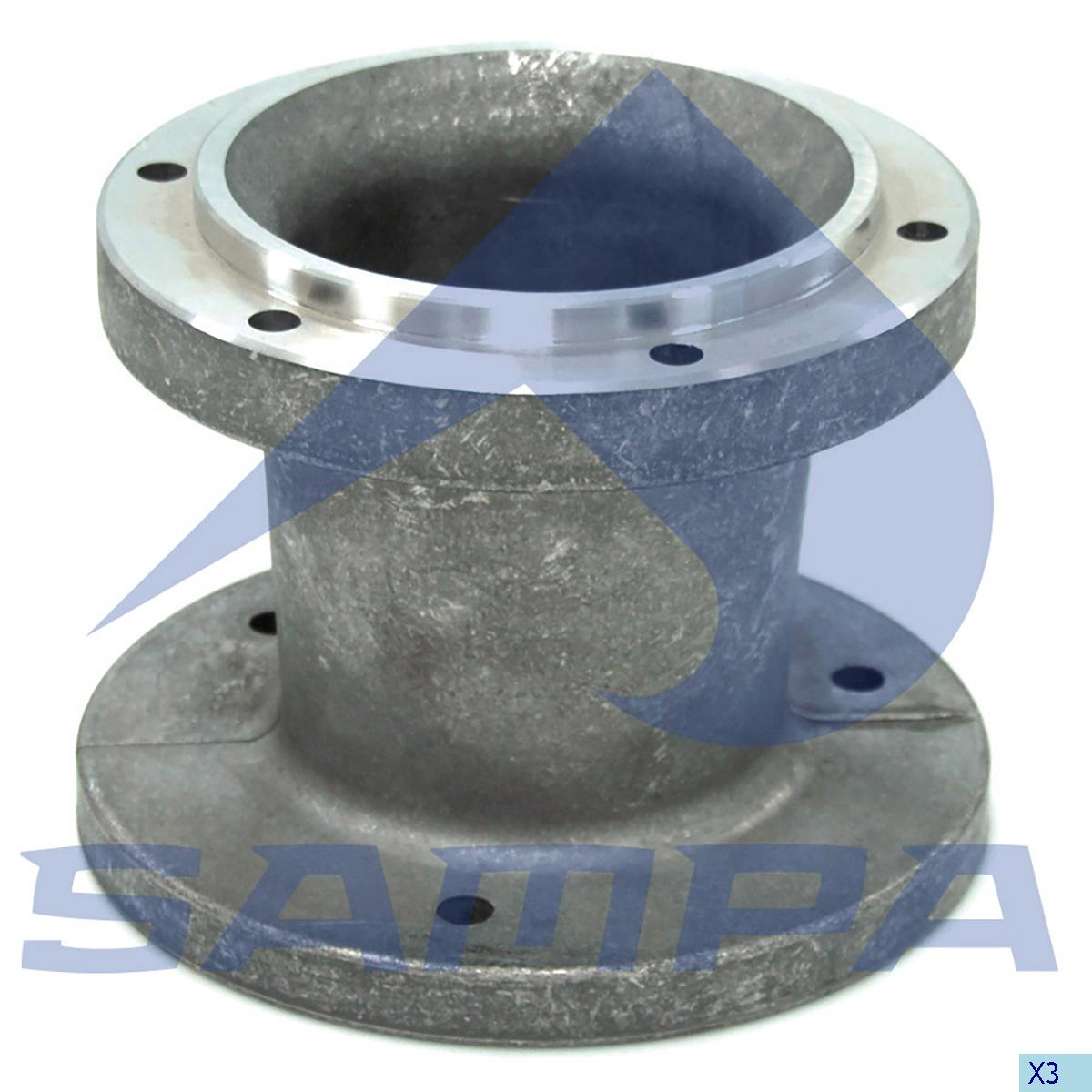 Flange, Fan, Mercedes, Engine