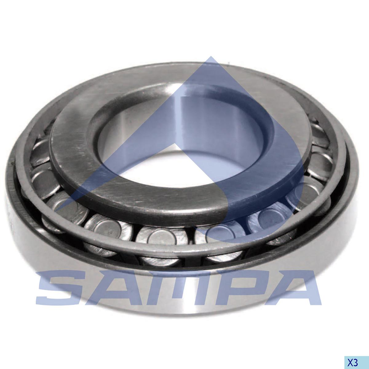 Bearing, Crown Wheel & Pinion, Mercedes, Power Unit