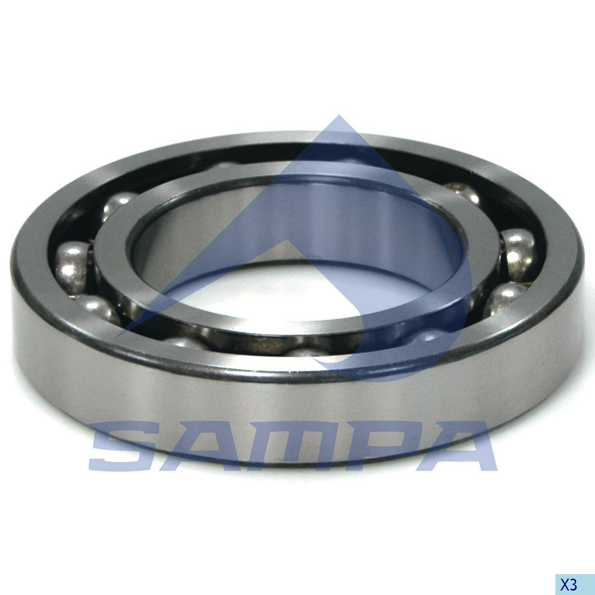 Bearing, Output Shaft, Mercedes, Gear Box