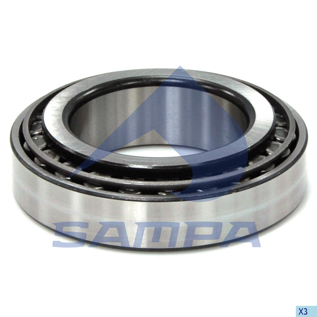Bearing, Wheel Hub, Mercedes, Power Unit