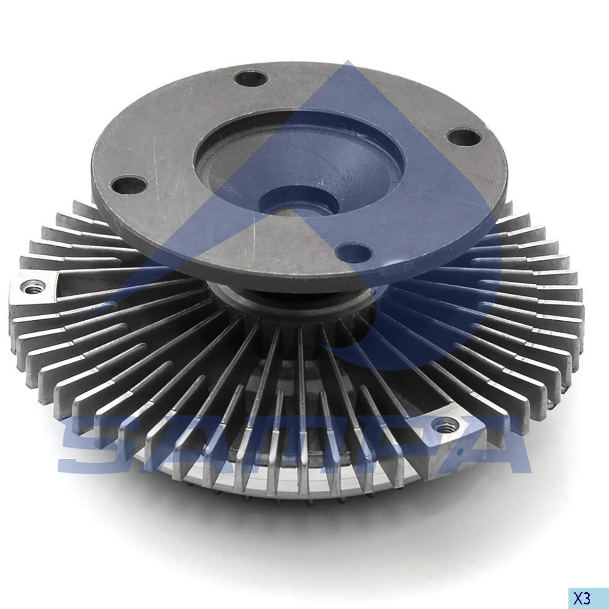 Visco Drive, Fan, Mercedes, Engine