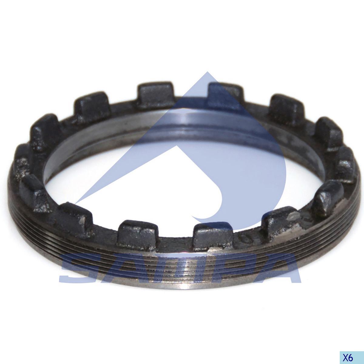 Adjusting Ring, Drive Shaft, Mercedes, Power Unit