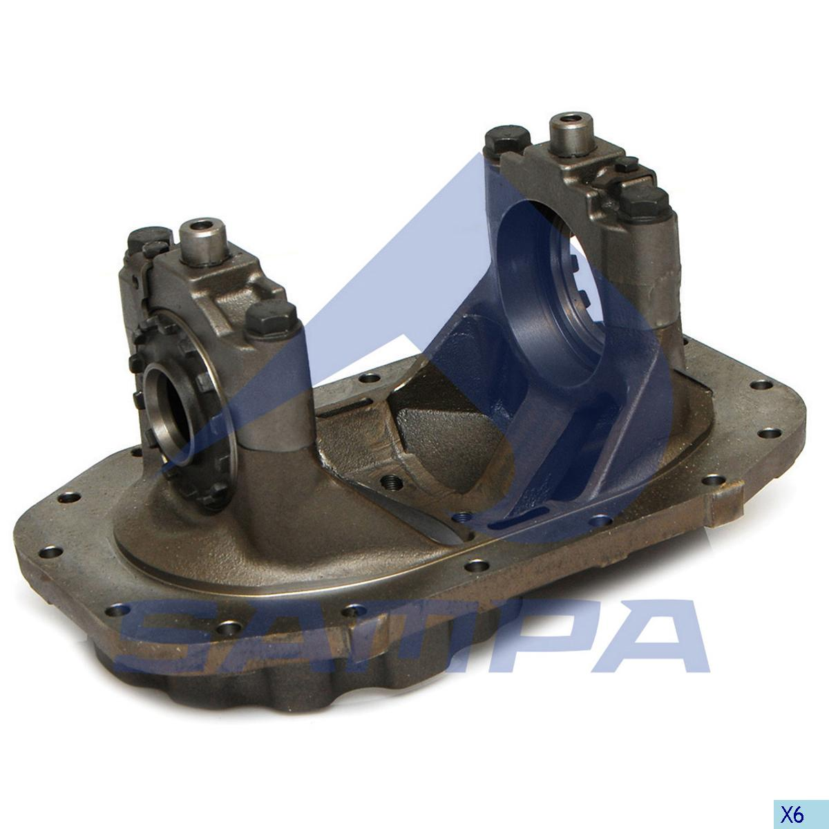 Bearing Housing, Differential Gear Housing, Man, Power Unit