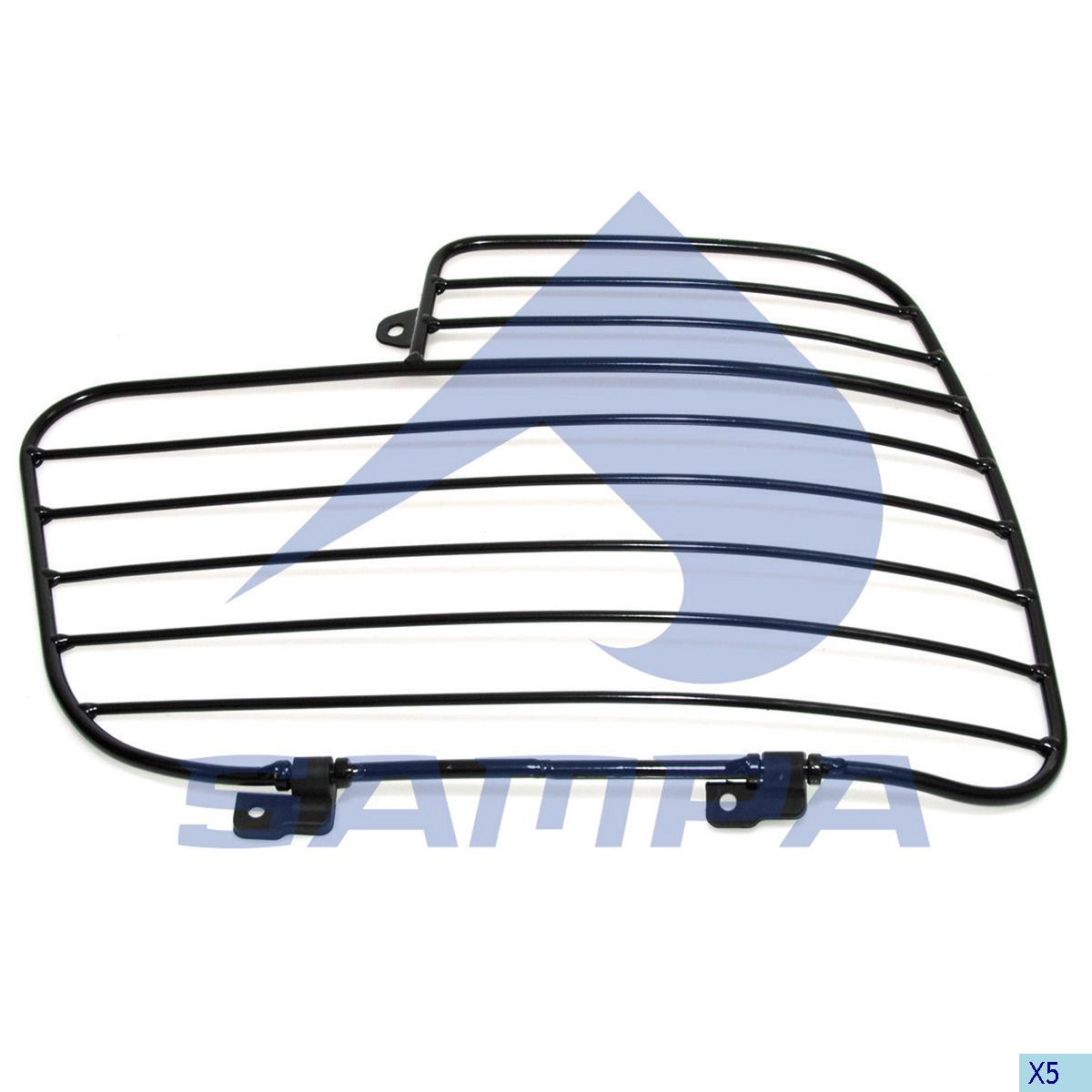 Grille, Head Lamp, Mercedes, Electric System
