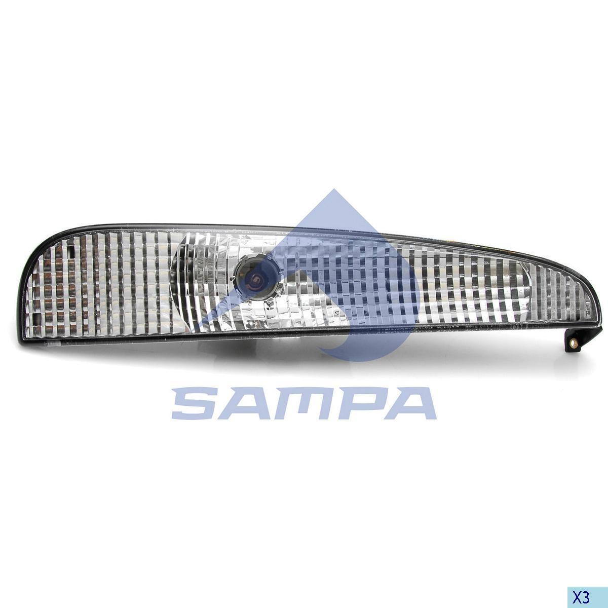 Signal Lamp, Mercedes, Electric System