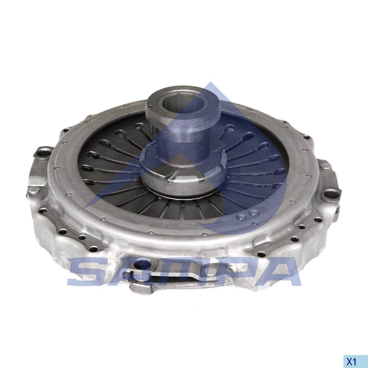 Pressure Plate, Clutch, Mercedes, Clutch