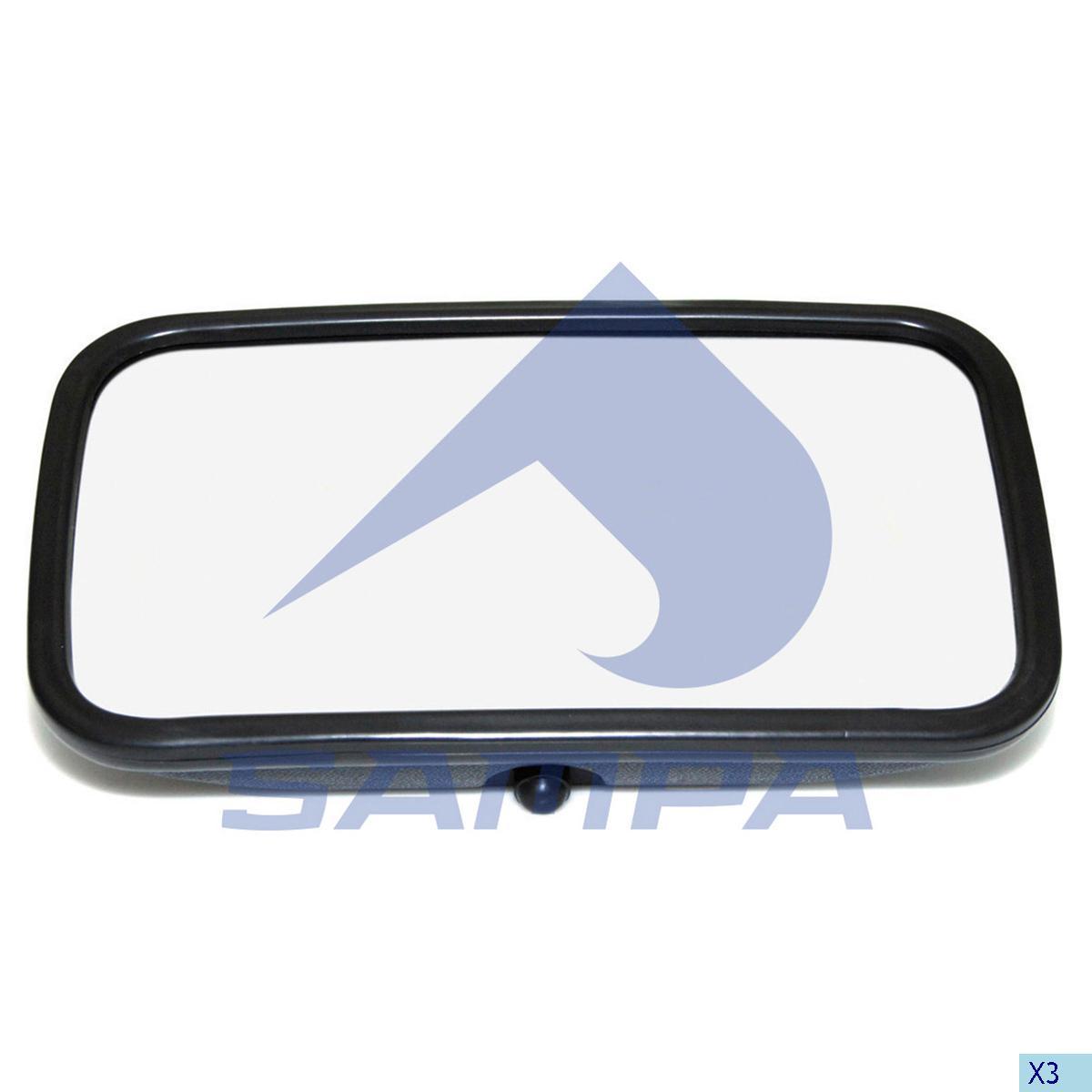 Mirror, Mercedes, Cab